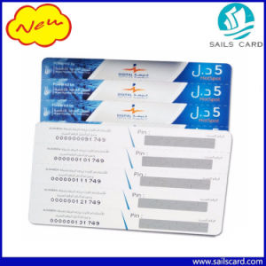 Anti-Fake Scratch Calling Card with Micro-Text Printing pictures & photos