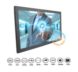 Wall Mount 17 Inch HDMI Touch Screen Monitor Vesa (MW-172MBT) pictures & photos