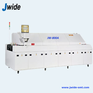 Economical 8 Zone Reflow Solder Oven for PCB Assembly Line pictures & photos
