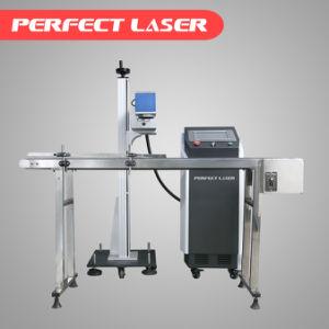 CO2 Fiber Online Fly Laser Marking Engraving Machine for Plastic Bottle pictures & photos