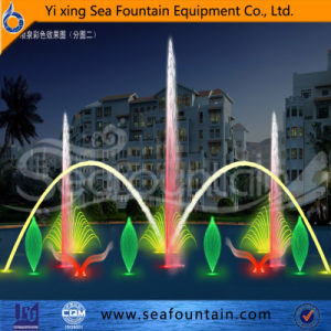 Quality Guarantied Large Music Dancing Floating Water Fountain pictures & photos