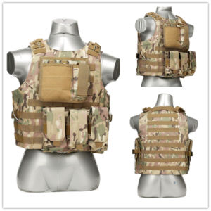 Woodland Camo Tactical Assault Hunting & Shooting Vest for Military pictures & photos