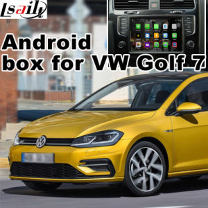 Android 5.1 4.4 GPS Navigation System Box for VW Golf 7 Touran Passat Variant Mib2 Video Interface Upgrade Touch Navigation Mirror Link Cast Screen Google Map pictures & photos