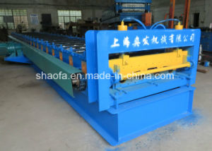 Automatic Hydraulic Cutting Floor Deck Metal Deck Roll Forming Machine pictures & photos