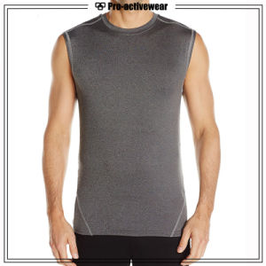2016 High Quality Custom Tank Top Shirts Dry Fit Compression Tops pictures & photos