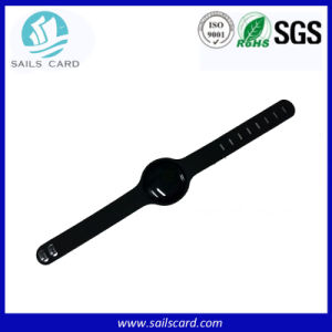 13.56MHz Soft Plastic RFID Bracelet with F08 or I Code Chip pictures & photos