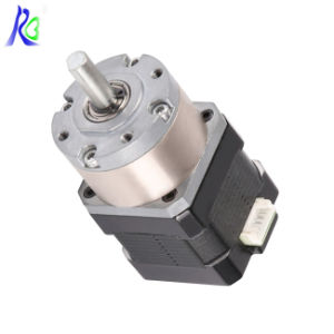 Mini Motor High Torque Two Phase 1.8 Degree NEMA17 Geared Stepper Motor pictures & photos