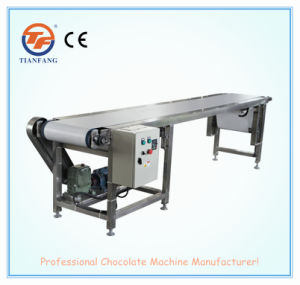 Chocolate Conveying Machine with Food Grade PU pictures & photos