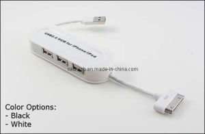 Mini USB Hub with 3 Ports /USB Gift (HE-423A)