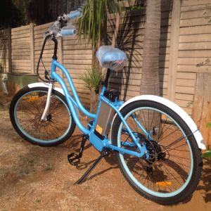 2017 Low Price 26inch City Electric Bike for Lady pictures & photos