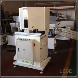 45 Degree Double Head Cutting Machine for Alu-Wood Window Exact Length Position