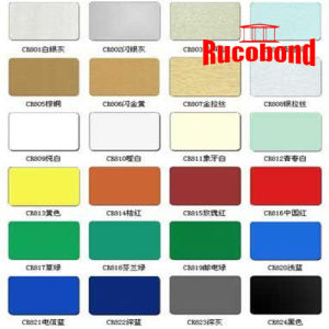 Rucobond Aluminum Composite Panel Building Material (RCB130827) pictures & photos