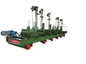 Pcqz80-15CF-6 Hard Wood Cutting Log Carriage with Auto Log Turner pictures & photos