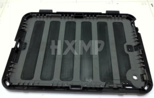 CNC Tablet Prototype PC Black Rubber Overmold Parts
