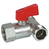 Brass 3 Way Ball Valve (BV-1029) M/F/M with Aluminium Handle pictures & photos