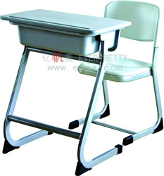 PP Student Desk and Chair-School Furniture Desk Chair pictures & photos