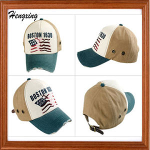 6-Panel Baseball Caps Sports Cap with Embroidery pictures & photos