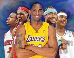 NBA Super Star Painting