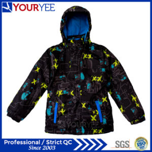 Winter Warm Padded Quilted Kids Ski Clothes Jacket Coat Factory (YSJ114) pictures & photos