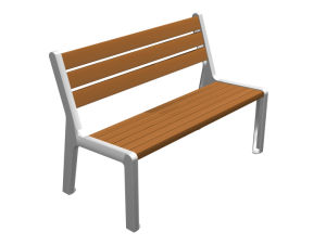 Outdoor Park Bench for Sale in Station pictures & photos