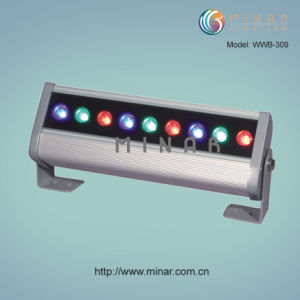 LED Wall Washer, RGB & Single Color
