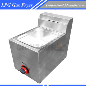 Counter Top Gas Fryer pictures & photos