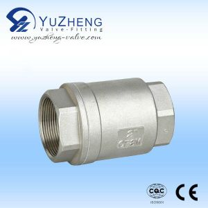 Industrial Vertical Thread Check Valve pictures & photos