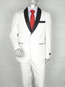 Classic Wedding Men Tuxedo White Men Suits
