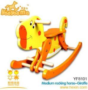 Wooden Toys-Medium Rocking Horse (YF8101)