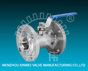 Integrated Anti-Leak Flanged Stainless Steel Ball Valve pictures & photos
