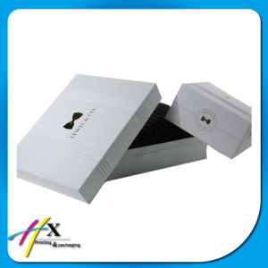 Shiny Silver Paper Coated Cardboard Watch Cosmetic/Chocolate Jewelry Gift Box pictures & photos