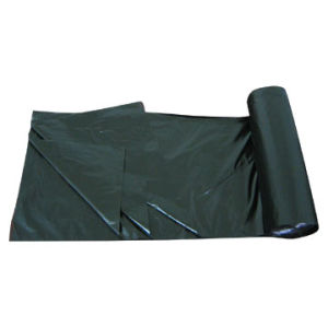 LDPE Black Star Seal Heavy Duty Plastic Garbage Bag pictures & photos