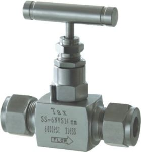 Globe Type Needle Valve (SS-6NVS14mm-TXN4)