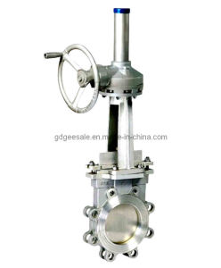 API DIN Standard Wafer Knife Gate Valve