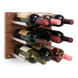 Hotel Metal Wine Pegs Adjustable Display Wall Mounted Wine Rack pictures & photos