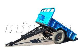 Small Trailer for Walking Tractor (7C-1.5) pictures & photos
