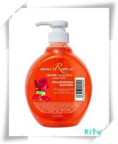 Rose Fragrance Liquid Hand Wash Soap (HWS02) pictures & photos
