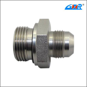 Jic Male 74 Degree Cone /Bsp Male O-Ring Pipe Fitting (XC-1JG) pictures & photos