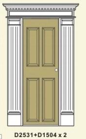 PU Door Casing, Decorative Cornices pictures & photos