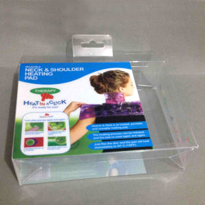 Tuck Top Auto Bottom Clear PVC Box pictures & photos