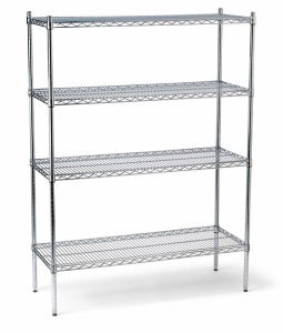 4 Layers Heavy Duty Wire Shelving pictures & photos