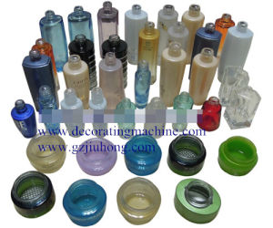 Glass Bottle/Container Silk Screen Printing Machine of Single Color pictures & photos