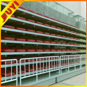 Jy-706 Indoor Gym Telescopic Platform Bleacher Seating UK Retractable Bleacher pictures & photos