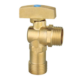 Brass Ball-Core Angle Valve (Brass Ball Electroplated) (SS10060)