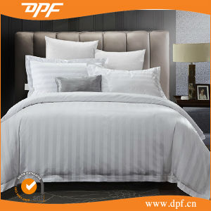 Hotel White Stripe Bedding Sets at DPF pictures & photos