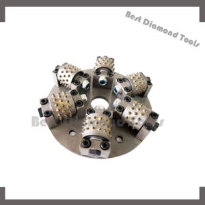 Long Lifespan Grinding Tools Diamond Bush Hammer Tools with Quickly Works pictures & photos