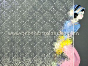 Clear Patterned Glass (Flora) (BRG001)