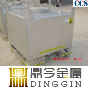 Ss304 Stainless Steel IBC Tank 1000L for Liquid pictures & photos
