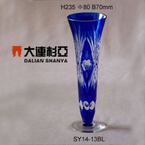 Glass Vase (SY14-13BL)