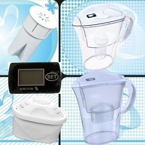 Drinking Water Filter Pitcher Jug with Hollow Fiber Filter pictures & photos
